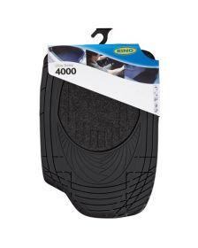 სალონის საფენი კომბინირებული RING 4000 BLACK RMAT17