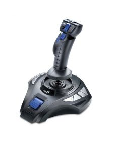ჯოისტიკი  MetalStrike Pro, Genius, Vibration Feedback Joystick for PC