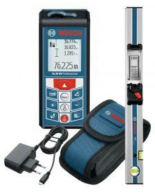 ლაზერული საზომი სახაზავით Bosch GLM 80 Professional + R 60 Professional