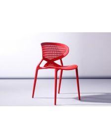 ბარის სკამი DLF-BC-01, DLF-902271 წითელი