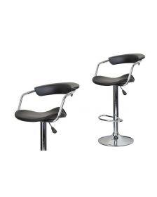 ბარის სკამი DM-R669-1, DM-905130 შავი