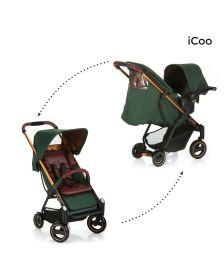 ეტლი Acrobat Shop N Drive Copper green (150030)