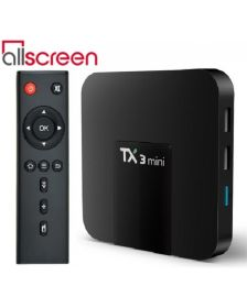 სმარტ ბოქსი Allscreen Android Tv Box smart tv TX3-MINI-1G-8G4