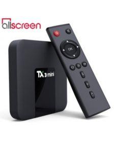 სმარტ ბოქსი Allscreen Android Tv Box smart tv TX3-MINI-2G-16G