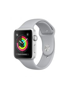 სმარტ სააათი Apple Watch Series 3 GPS 38mm Silver Aluminium Case with Fog Sport Band (MQKU2FS/A)