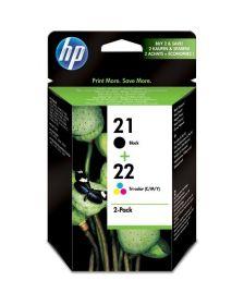 კარტრიჯი HP 21 Black/22 Tri-color 2-pack Original Ink Cartridges