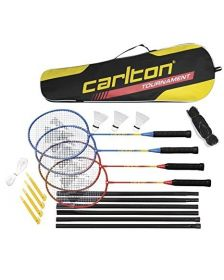 ბადმინტონი Badminton set CARLTON TOURNAMENT for 4 players