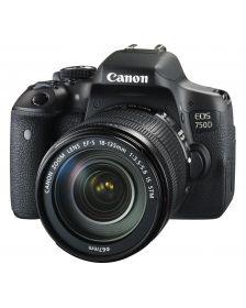 ფოტოაპარატი Canon EOS 750D Black + Lens EF-S 18-135mm IS STM