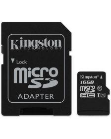 მეხსიერების ბარათი Kingston Canvas Select 16GB microSD