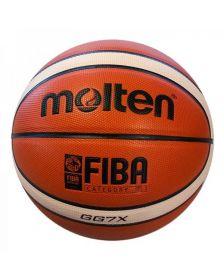 კალათბურთის ბურთი MOLTEN BGG7X-X (premium leather)