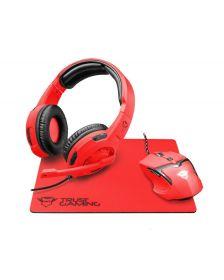 ყურსასმენი მაუსი და პადი TRUST GXT790-SR SPECTRA GAMING BUNDLE - RED