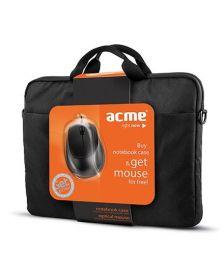 ნოუთბუქის ჩანთა Acme 16M37 Notebook case + მაუსი MS13