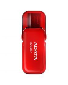 USB ფლეშმეხსიერება ADATA UV240 8 GB, USB 2.0, Red