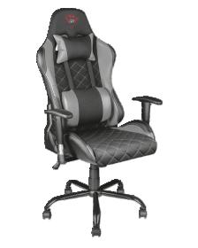 სკამი გეიმერებისათვის TRUST GXT 707R Resto Gaming Chair - grey