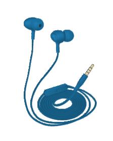 ყურსასმენი TRUST Ziva In-ear Headphones with microphone - blue