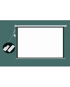 ოვერჰედის ეკრანი კედლის, 225X300სმ. დისტანციური მართვით, VB-701103, VB-701103