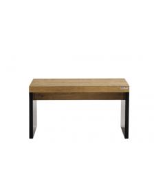 ჟურნალის მაგიდა მუხა/შავი, ASTERO, REN-AST.04.80, REN-213021