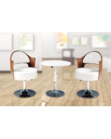 ბარის სკამი თეთრი, DLF-008/1, DLF-902262