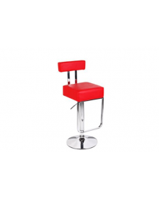 ბარის სკამი DM-6712, DM-905157 წითელი