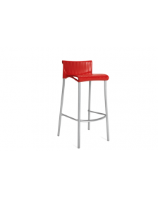 ბარის სკამი DUCA, წითელი, NA-7000, NA-925003