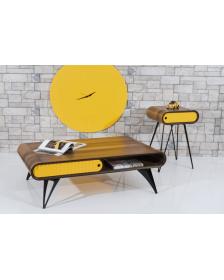 ყავის მაგიდა MS-Mois Lux, MS-932009 ნაცრისფერი