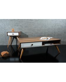 ყავის მაგიდა კაკლისფერი, MS-Nevizade, MS-932016