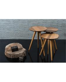 ყავის მაგიდა კაკლისფერი, MS-Torino Nesting Table, MS-932000