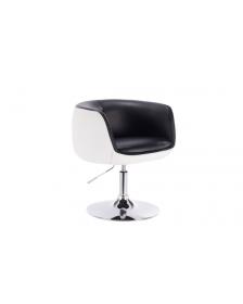 ბარის სკამი MT-CL-035/Black-White, MT-928606