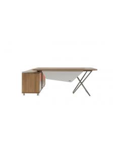 მაგიდა REN-EAG.01.23.L(S.Walnut+Ant.), REN-213077