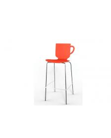 ბარის სკამი წითელი, UP-UBC278, UP-931006