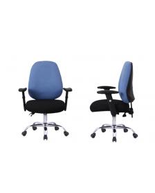 სავარძელი ნაჭრის ზედაპირით შავი/ლურჯი, ZG-A09(Black+Blue), ZG-214005