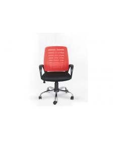 სავარძელი ბადის ზედაპირით შავი/წითელი, ZG-C19(Black+Red), ZG-214009