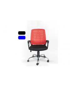 სავარძელი ბადის ზედაპირით, შავი/ლურჯი, ZG-C19, ZG-214046