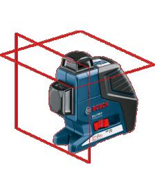 ლაზერული ნიველირი Bosch GLL 2-80 P + BT 150