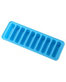 ფორმა Essenso 7062 Slicone Ice& Chocolote Mould Strip Shape-Bluee