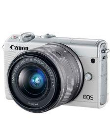 ციფრული ფოტოაპარატი Canon EOS M100 15-45mm IS STM White
