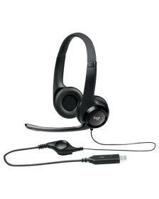 ყურსასმენი Logitech Corded USB Headset H390