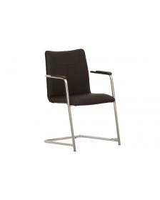 """საკონფერენციო სკამი """"Desilva"""" NS-900161შავი, (ნოვი სტილი, უკრაინა)"""