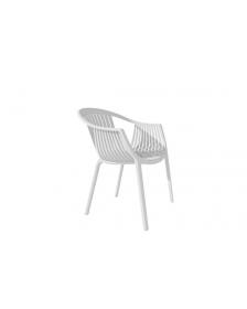ბარის სკამი პლასტიკური ზედაპირით, თეთრი, DLF-1712, DLF-902233