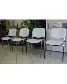 """საოფსე სკამი  """"Iso"""",  NS-900171 თეთრი, (ნოვი სტილი, უკრაინა)"""