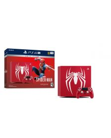 სათამშო კონსოლი Sony Playstation 4 Console 1TB  with Spider-Man limited Edition (Red)\PS4