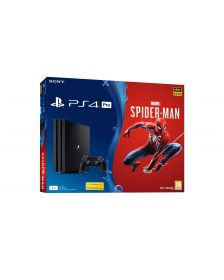 სათამაშო კონსოლი Sony Playstation 4 PRO console 1TB Black  (Split Bundle)/PS4