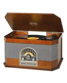 ვინილი Trevi Turntable TT1040BT Wooden