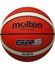 კალათბურთის ბურთი Molten rubber BGR5-OI