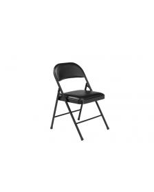 დასაკეცი სკამი QT-0102(Black), QT-219103