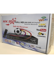რესივერი  MM.STAR-1021 RECEIVER S-2 FULL HD