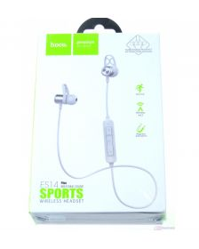 ყურსასმენი Hoco ES14 Plus breathing sound sports wireless headset SILVER