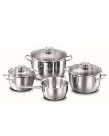 ქვაბის კომპლექტი Korkmas A1094 AROMA Cookware Set (7 pcs)