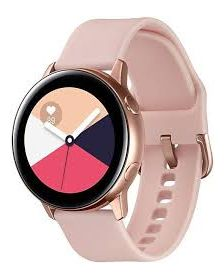 სმარტ საათი Samsung R500 Galaxy Watch Active Rose Gold