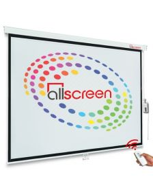 პროექტორის ელექტრო ეკრანი ALLSCREEN CMP-6363 (160X160CM)